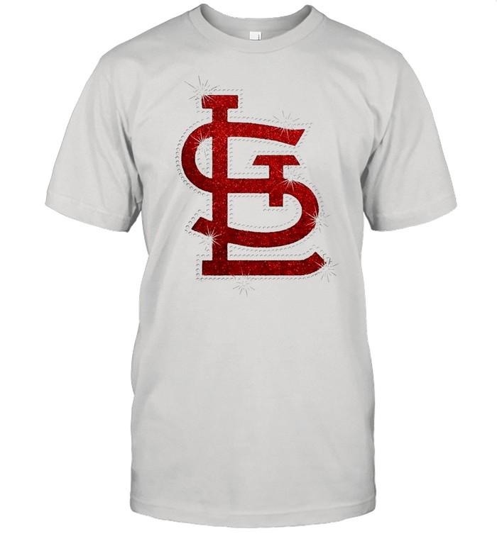 St louis cardinals symbol diamond shirt