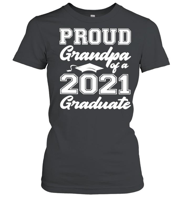 Proud grandpa of a 2021 graduate shirt Classic Women's T-shirt