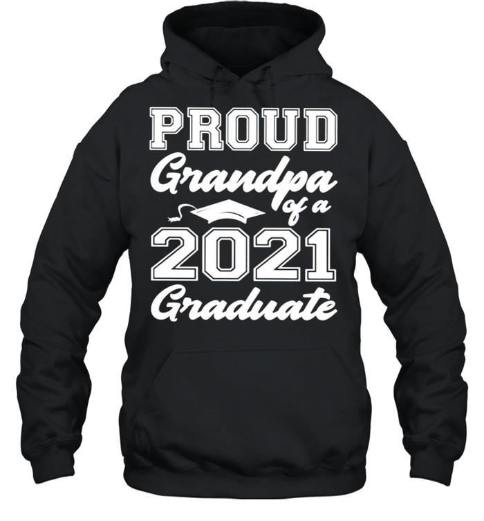 Proud grandpa of a 2021 graduate shirt Unisex Hoodie