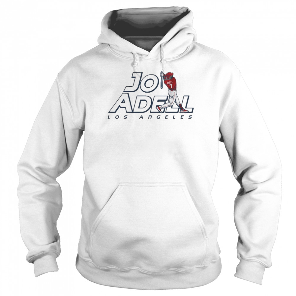 2021 Los Angeles Jo Adell shirt Unisex Hoodie