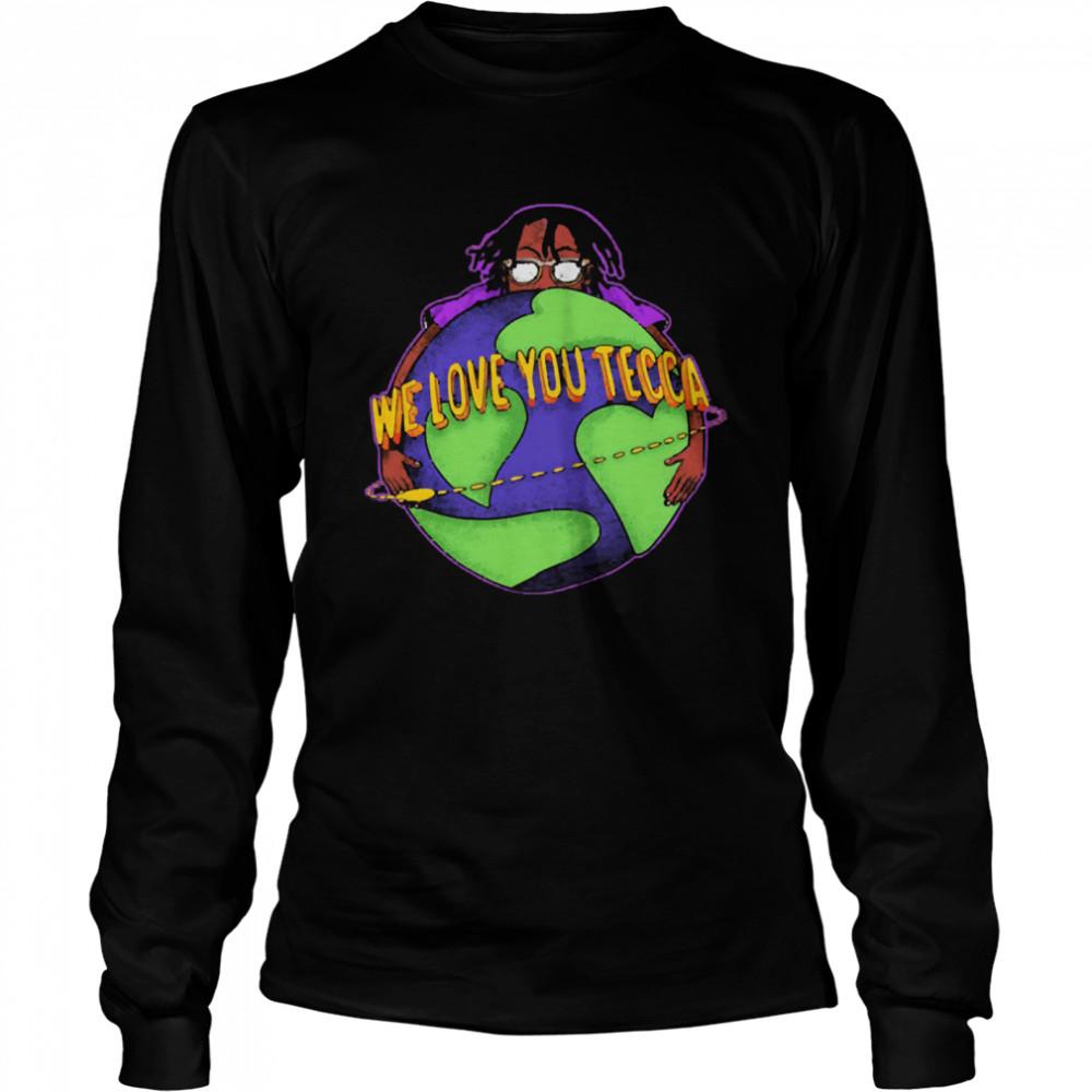 Lil tecca shirt Long Sleeved T-shirt