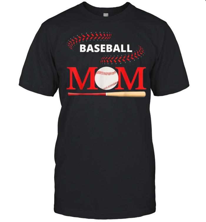 Baseball Mom Softball Player Mom Of Boys Mothers Day Shirt