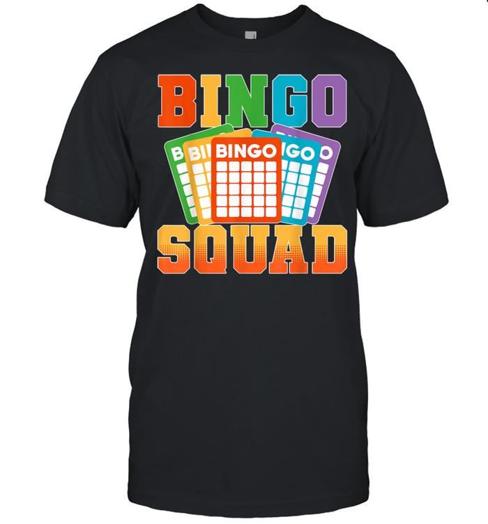 Bingo Squad Lucky Bingo Player shirt