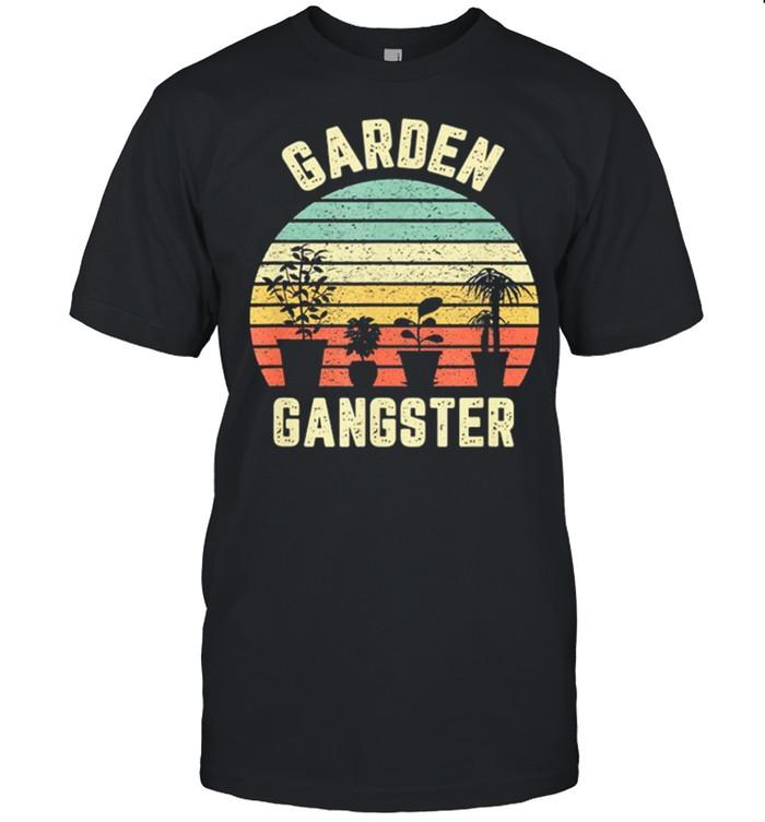 Garden Gangster Vintage Retro shirt