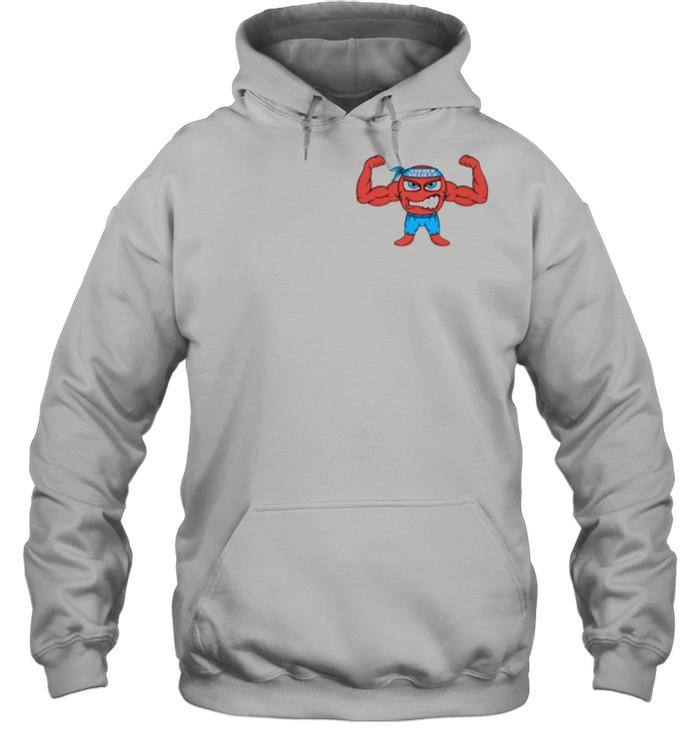Jacked Cartoon Figure  Unisex Hoodie