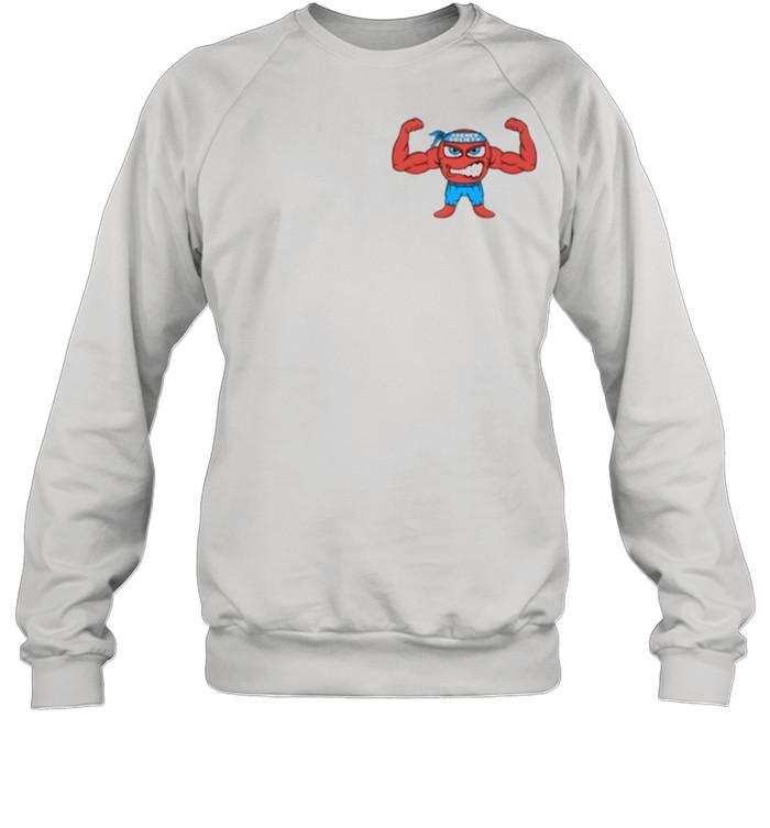 Jacked Cartoon Figure  Unisex Sweatshirt