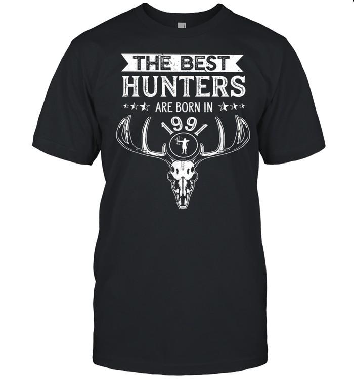 Cool 1991 Hunter Birthday Hunting 30th Birthday Bowhunting Shirt
