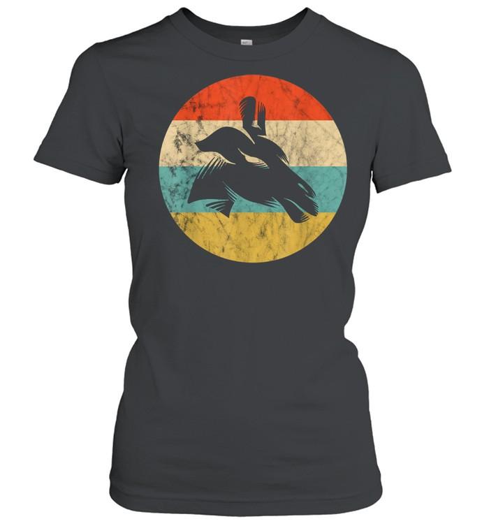 Giraffe Camelopard Ruminant Africa Safari Trip Mammal Sunset  Classic Women's T-shirt