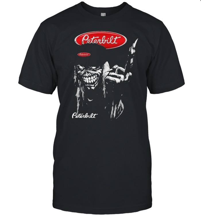 Skull Peterbilt Logo Shirt