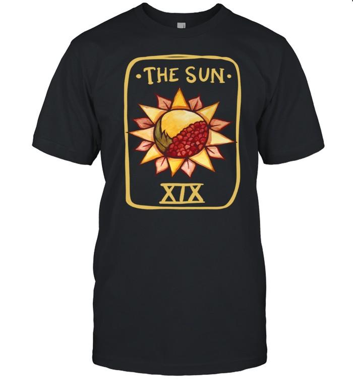 The Sun Tarot Card Die Sun Tarot Card Art Witchy heidnisch shirt