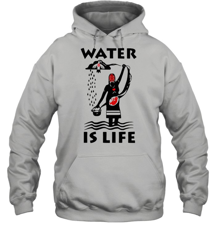 Water Is Life Native Americans Ideas T-shirt Unisex Hoodie