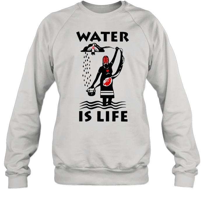 Water Is Life Native Americans Ideas T-shirt Unisex Sweatshirt