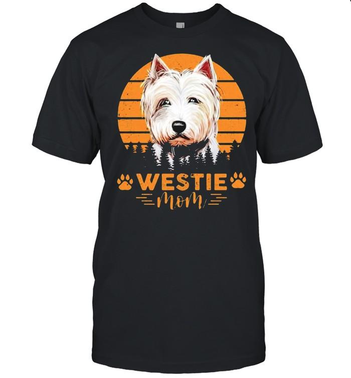 Dogs westie mom shirt