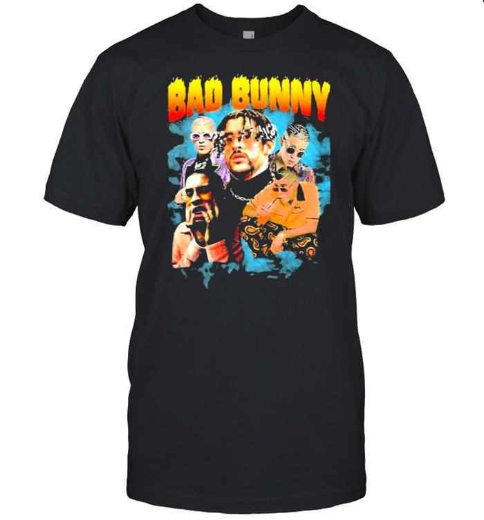 Bad Bunny band music shirt