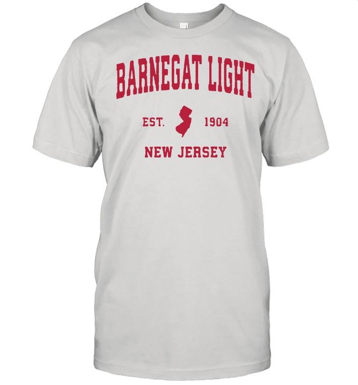 Barnegat Light New Jersey 1904 NJ Vintage Sports Shirt