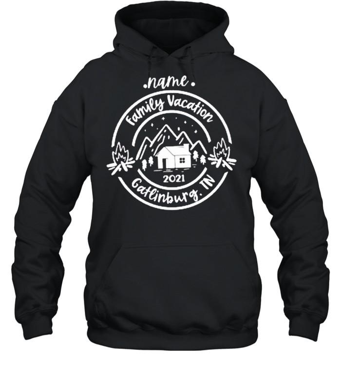 Name Family vacation 2021 Gatlinburg.TN Classic shirt Unisex Hoodie
