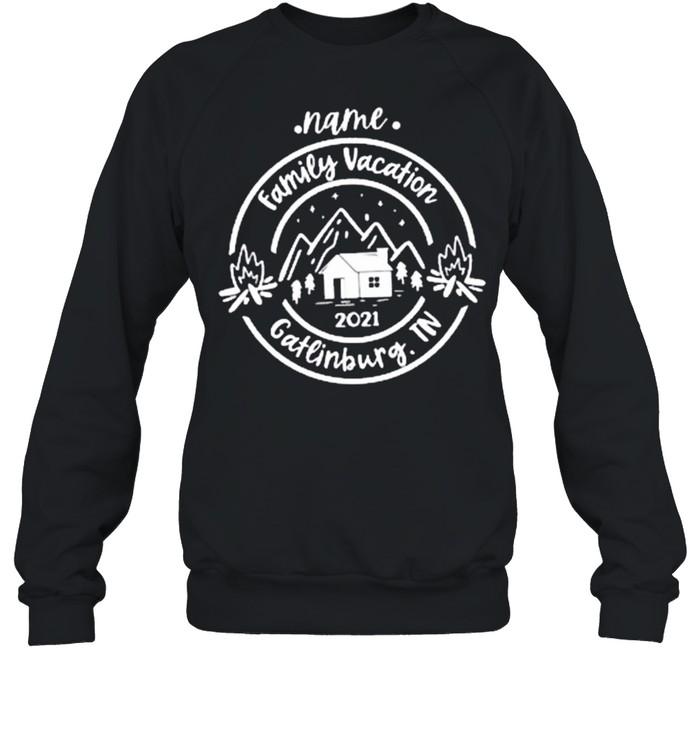Name Family vacation 2021 Gatlinburg.TN Classic shirt Unisex Sweatshirt