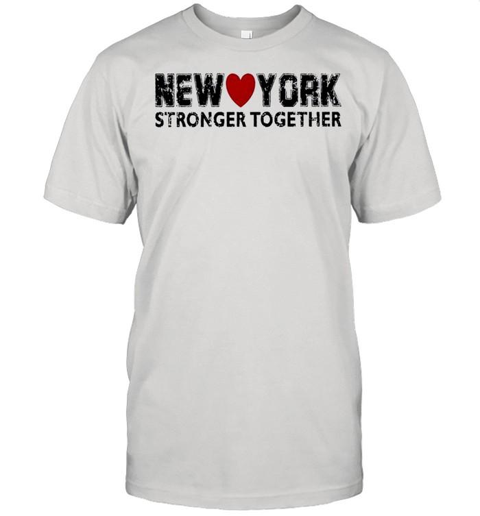 New York stronger together shirt