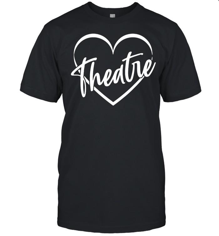 Teacher broadway theater theatre shirt