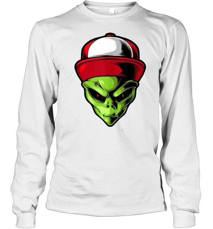 Alien Are You Ready  Long Sleeved T-shirt