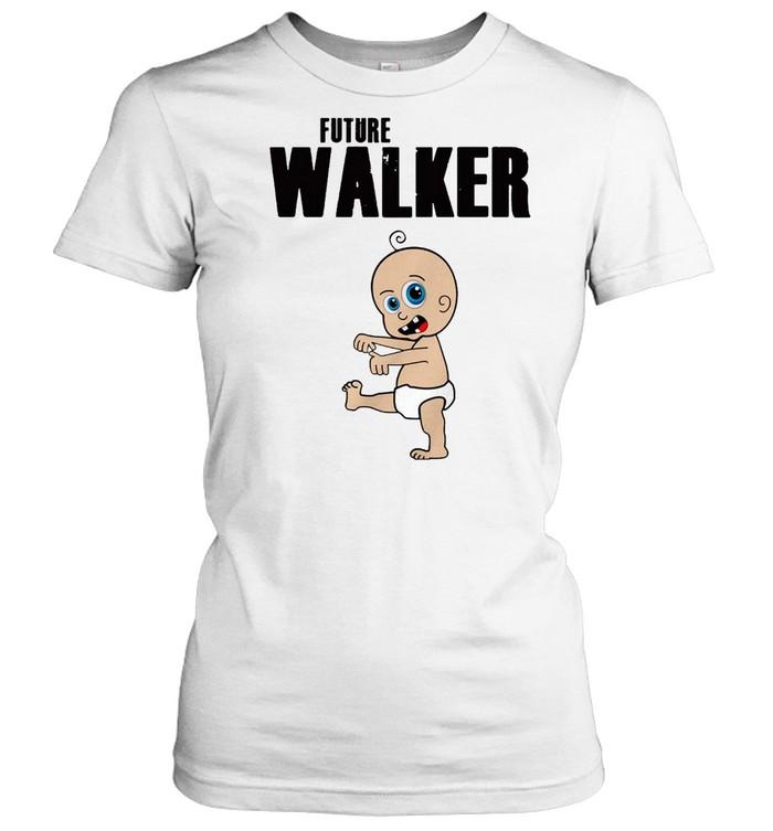 Future Walker Zombie Toddler  Classic Women's T-shirt