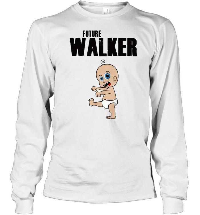 Future Walker Zombie Toddler  Long Sleeved T-shirt